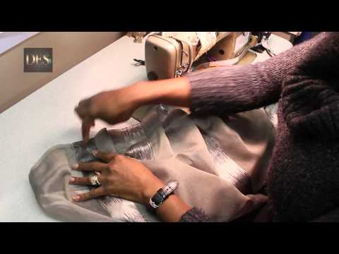 How to make Pinch Pleat with two pleats