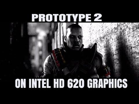 Prototype 2 ON Intel HD 620 Graphics Core i5 7200U