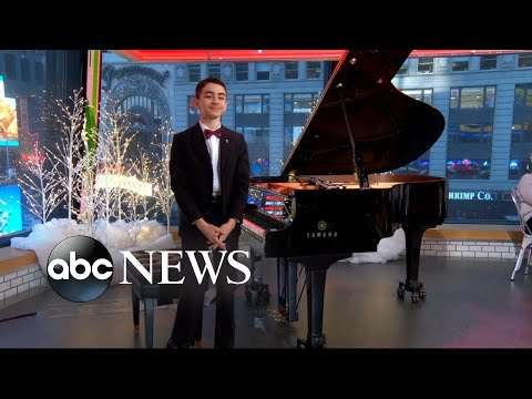 Meet the 12-year-old piano prodigy who performed at Carnegie Hall