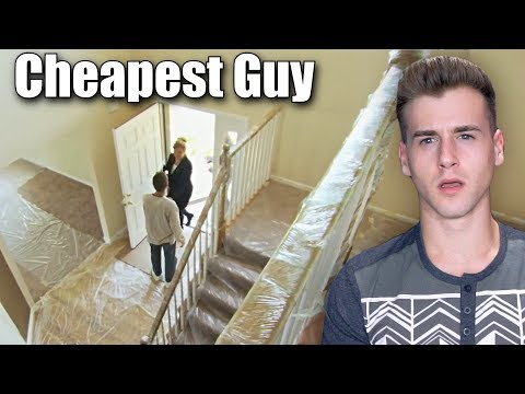 Cheapest Guy Ever (Shrink Wrapped His Whole House)