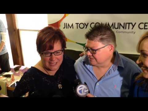 April DeBoer and Jayne Rowse speak after hearing Supreme Court decision