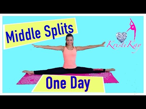 how to do a middle split