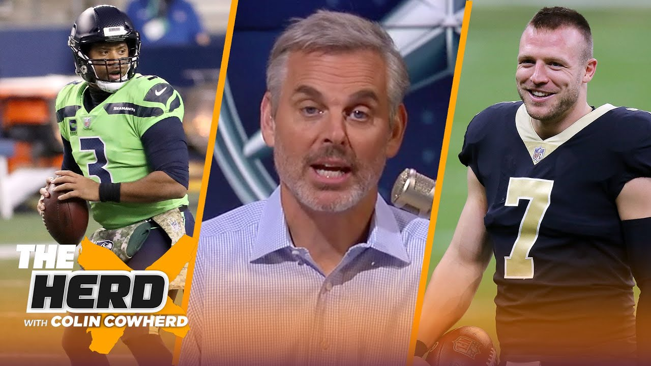 Seahawks looked like contenders, surprised Saints will start Taysom Hill? — Colin | NFL | THE HERD
