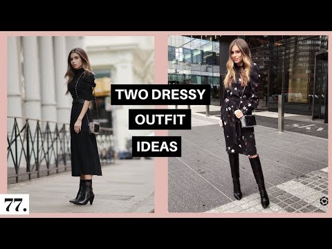 Two Fall Dressy Outfit Ideas   12 Hour Video Shoot Day