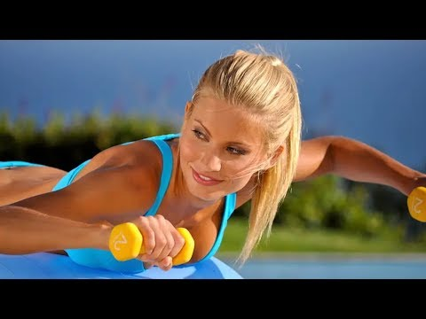 Stability Ball Exercises for Beginners - Fit Ball Exercises - Exercise Ball Workout