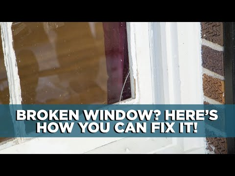 How to Replace a Broken Window Pane