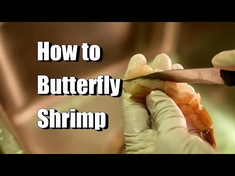 How to Peel, Devein, and Butterfly Shrimp or Prawns