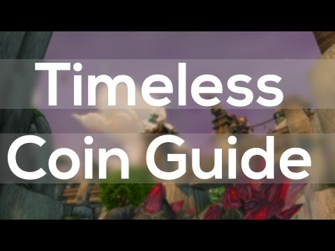 Timeless Coin Farming Guide - Timeless Isle Patch 5.4