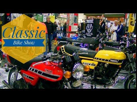 Classic Bike Show Stafford Showground October 2017