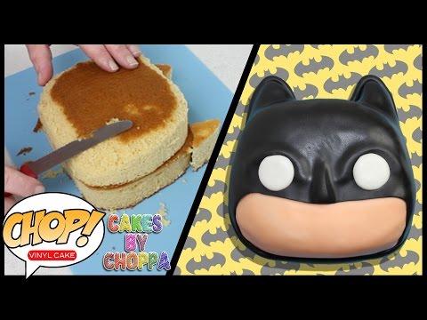 Batman -  POP! VINYL   CAKE (How To) CakesByChoppA
