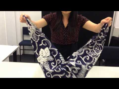 How to make a Furoshiki handbag