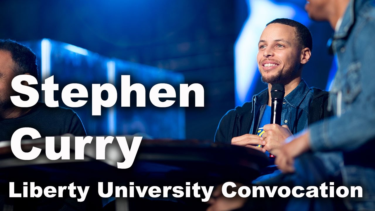 Stephen Curry - Liberty University Convocation