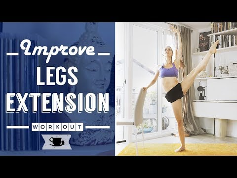 The Secret of a Ballerina Legs Extension IS STRENGTH