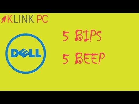 Dell 5 bips au démarrage une solution + une méthode