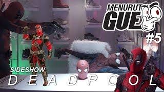 censored Deadpool Kills Spidey Menurut Gue 5 Sideshow Deadpool action Figure