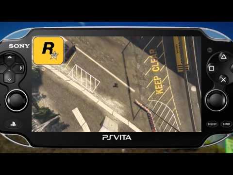 grand theft auto 5 на psvita/psv/playstation vita //2017
