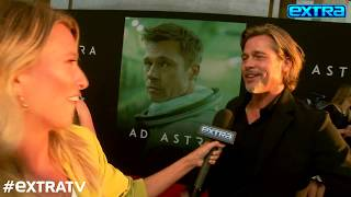 Brad Pitt Dishes on His Friendship with Kanye West