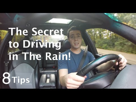 How To Drive Safely In The Rain (8 Secrets You Need To Know)
