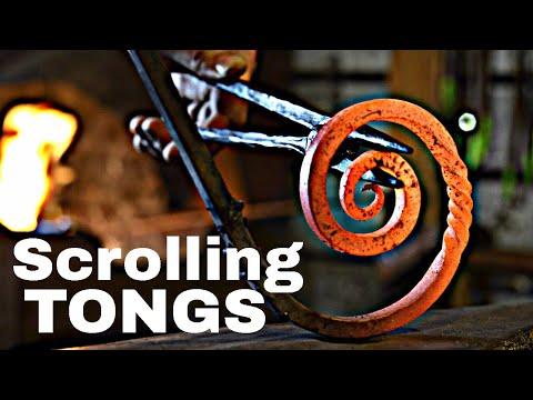 Forging Scrolling Tongs