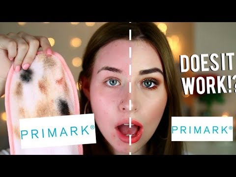 TESTING CHEAP MAKEUP ERASER I BOUGHT FROM PRIMARK - DOES IT WORK!?