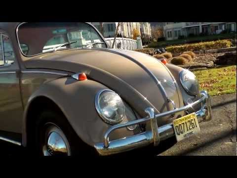 Classic Restored 1965 VW Volkswagen Beetle Bug Sunroof for Sale Prairie Beige