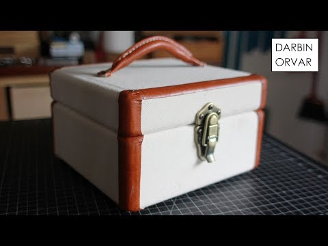 DIY Vintage-Style Keepsake Box