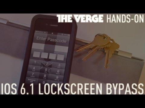 iOS 6.1 lockscreen bypass