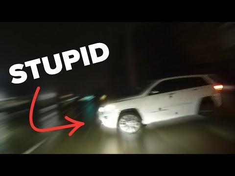 NEARLY CRASHED MY BMW!!!