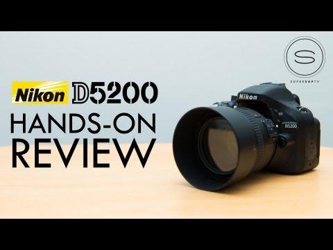 Nikon D5200 Hands-on Review