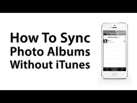 [iOS Advice] How To Sync Photo Albums Across iOS Devices Without iTunes