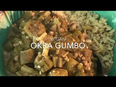 Vegan Okra Gumbo