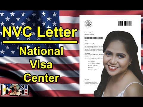 K1 Visa National Visa Center (NVC) Letter with Manila Case Number! 3rd Letter!