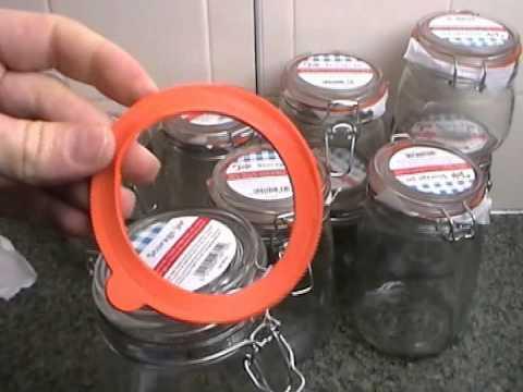 Tala Classic Airtight Glass Jars 380ml-1500ml review & test