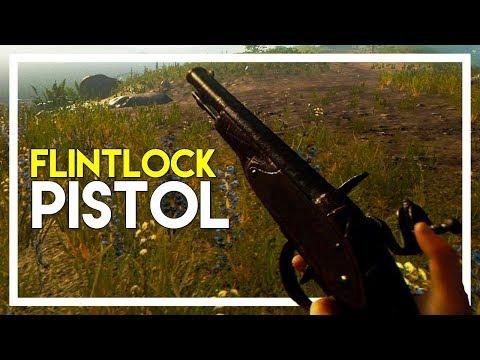 The Forest (1.0 Update) Multiplayer Gameplay - Part 14: Flintlock Pistol!