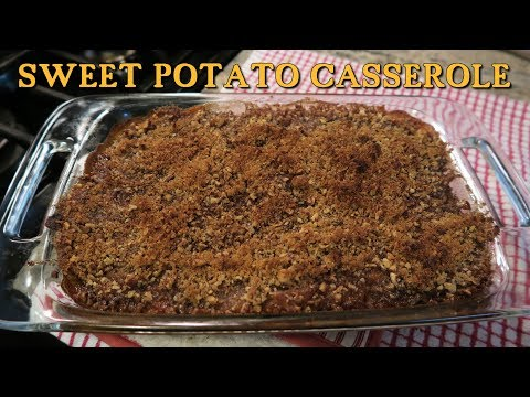 Angelo's Mom Makes Sweet Potato Casserole