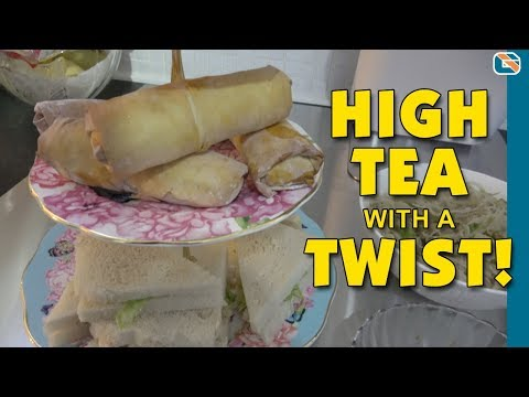 Dad's Can Cook - High Tea with a Twist