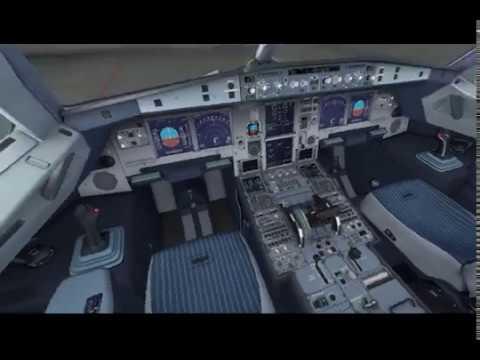 Tutorial FSX Dari Take off - Landing, Microsoft Flight Simulator FSX Indonesia