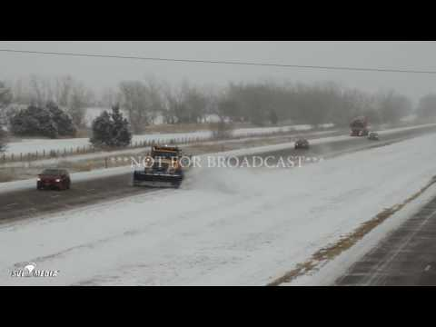 Aaron Edwards   Icy Road Conditions Accidents   North Platte, NE   1 4 2017 NFB