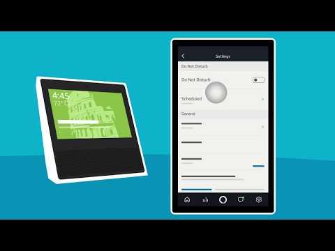 Amazon Echo Show: Customizing Home Screen