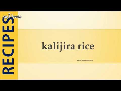 kalijira rice