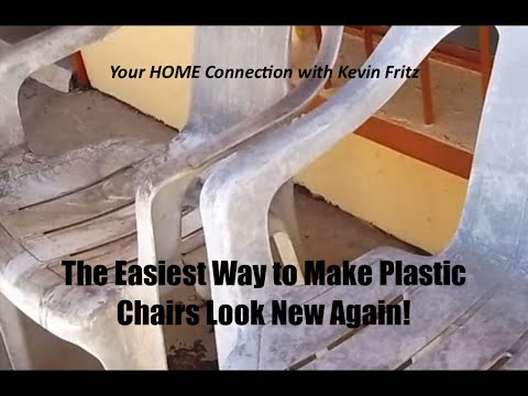 The Best Way to Make Plastic Chairs Look New Again!