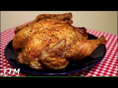 Whole Chicken in the Oven