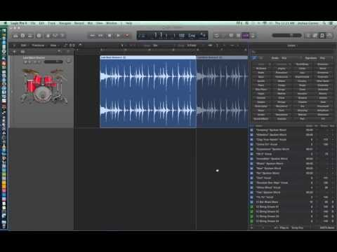 Logic Pro X - Video Tutorial 08 - Create Your Own Apple Loops