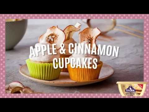 How to Make Easy Apple & Cinnamon Cupcakes