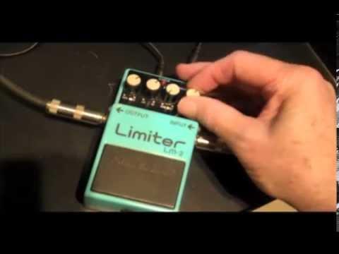 Vintage Boss Limiter Compressor Buffer Booster LM-2 LM2 guitar or bass