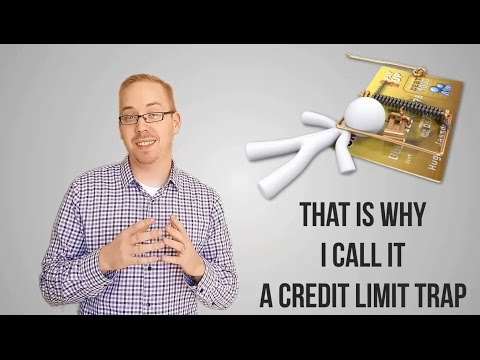 Credit Limit Trap - HIGH BALANCES LOWER YOUR SCORE