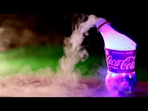 TURN COCA COLA BOTTLE INTO A FOG MAKER - DIY LIFEHACK