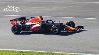 Aston Martin Red Bull Racing RB16 LAP on test - Spectator View | by NMRally