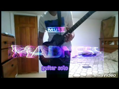 Muse - Madness (Guitar Solo Cover)