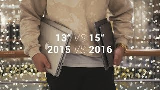 "MacBook Pro 2016 mit Touch Bar vs MacBook Pro 2015 (+ 13"" vs 15"")"